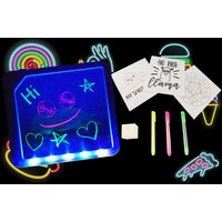 £6.99 instead of £19.99 (from Direct2Publik) for a neon drawing board with pens - save 65% - Drawing Gifts