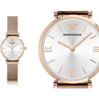 Time for an Emporio Armani AR1956 ladies' rose gold watch deal! - Armani Gifts