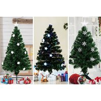 'From £24 (from Aosom) For A Fibre Optic Christmas Tree - Save Up To 52%
