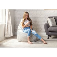 Take it easy with a crushed velvet beanbag chair - choose from six colours and save up to 67% - Beanbag Gifts