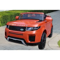 a Range Rover Evoque-inspired 12V electric ride-on car with remote - choose from three colours and save 47%
