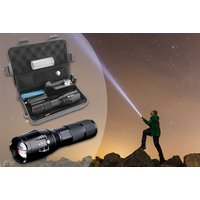 a militarystyle torch, or £9.99 for a torch and accessory box  save up to 88%