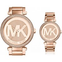 It's always time for a new watch with deals like this one for a Michael Kors MK5865 Parker crystal ladies watch! - Watch Gifts
