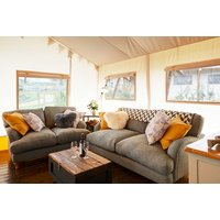 £299 (at Love 2 Stay, Shrewsbury) for a three-night glamping lodge stay for up to six with private hot tub, cinema tickets, ice skating and private assault course session - celebrate the end of 2018 and save 40% - Skating Gifts