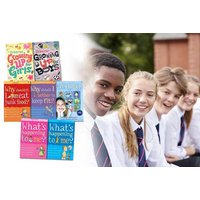 £18.99 instead of £51.93 for Usborne's guide to growing up seven-book collection from PCS Books Ltd - save 63% - Growing Gifts