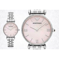 £109 instead of £282.01 (from Hip Watches) for a ladies Emporio Armani AR1779 lilac dial slim watch - save 61% - Lilac Gifts