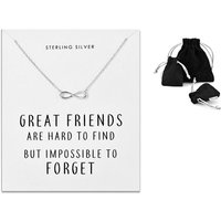 £8.99 instead of £41 (from Philip Jones) for a sterling silver friendship quote necklace - save 78% - Friendship Gifts