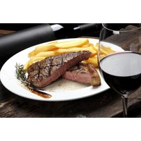 £24 for a rib-eye steak or sea bass dinner for two with a glass of wine to share, £32 with a bottle of wine, £47 for four people with a glass of wine each, £63 with two bottles of wine to share at Piccolino, Newcastle Quayside - save up to 65% - Bass Gifts