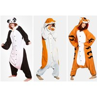 £14.99 instead of £39.99 (from ZooHood) for an adult animal onesie – choose from three designs and save 63% - Onesie Gifts