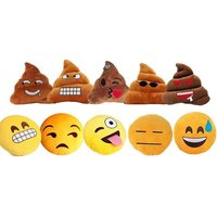£6 instead of £14.99 for an emoji cushions - choose from 10 designs from London Exchain Store - save 60% - Cushions Gifts