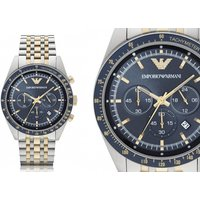 Check out our stunning Emporio Armani AR6088 two-tone mens chronograph watch deal! - Armani Gifts