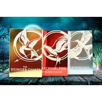£19.99 instead of £23.97 for The Hunger Games trilogy foil collection by suzanne collins from PCS Books Ltd  - save 17% - Hunger Games Gifts