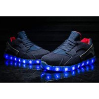 £29.99 instead of £49.99 (from Flashez) for a pair of LED hurricane trainers – choose from six sizes and save 40% - Trainers Gifts