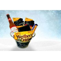 a luxury Christmas hamper 'for him' including a beer bucket, wallet, six pairs of socks and more from IQGB  save 62%
