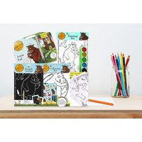 £8.99 instead of £37 (from Direct2Publik) for a 'The Gruffalo' art and craft four-pack set - save 76% - The Gruffalo Gifts