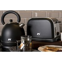 an Ovation toaster and kettle set - choose from three colours and save 64%