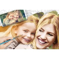 £36 instead of £44.17 (from Simba Smoby) for a personalised photograph colour-by-numbers craft set – save 18% - Smoby Gifts