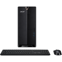 Acer Aspire TC Desktop PC | TC-390 | Schwarz