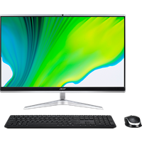 Acer Aspire C 24 All-in-One Pantalla Táctil | C24-1651 | Plata