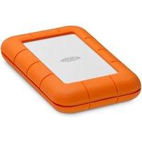 LaCie 2TB Rugged USB-C | Naranja