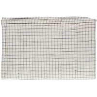 Ikat Checked Hand Embroidered Quilt