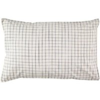 Ikat Checked Pillow Case