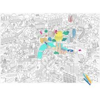 Giant London Colouring-in Poster