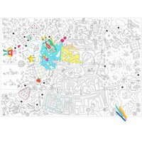 Giant Play Colouring-in Poster