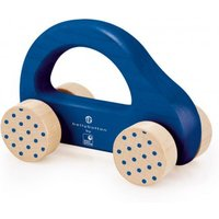 Wooden car - blue