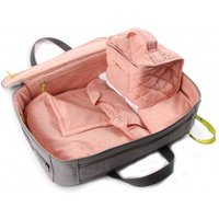 Maternity case with a chic bag - pink