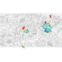 Giant Colouring in - London