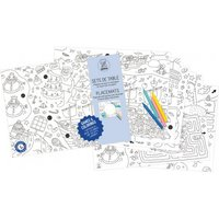 Colouring Placemat - Games