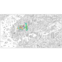 Giant New York Colouring Poster