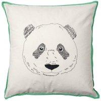 50x50cm Panda Head Cushion