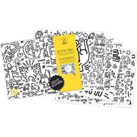 Keith Haring Colouring Placemat