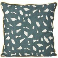 Mini Cotton Printed Cushion 50x50 cm