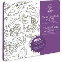 Gigantic Magic Colouring Poster