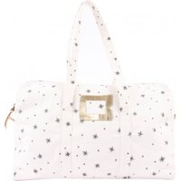 Ecru 48H Weekend Bag - Grey Stars