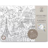 City 2 Colouring Table Set