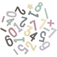 Girl's Magnetic Wooden Numbers Set