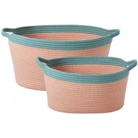 Oval Storage Baskets - Set of 2