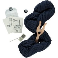 Navy Blue Lucette DIY Knitting Kit