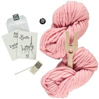 Pale Pink Lucette DIY Knitting Kit