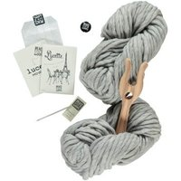 Grey Lucette DIY Knitting Kit