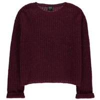 Wool Blend Ribbed Panax Pullover