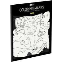 Paris Colouring Masks - Set of 8
