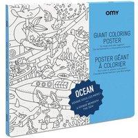 Ocean Giant Colouring Poster