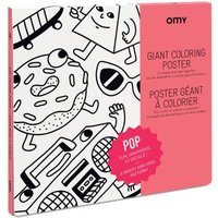 Pop Giant Colouring Poster