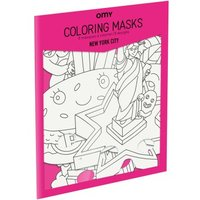 New York City Colouring Mask - Set of 8