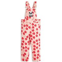 Organic Cotton Floral Dungarees